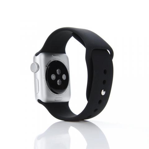 Ремешок для Apple Watch 42/44мм - Coteetci W3 чёрный