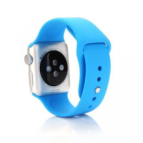 Ремешок для Apple Watch 42/44мм - Coteetci W3 голубой