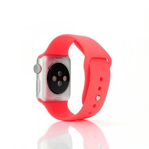 Ремешок для Apple Watch 42/44мм - Coteetci W3 красный