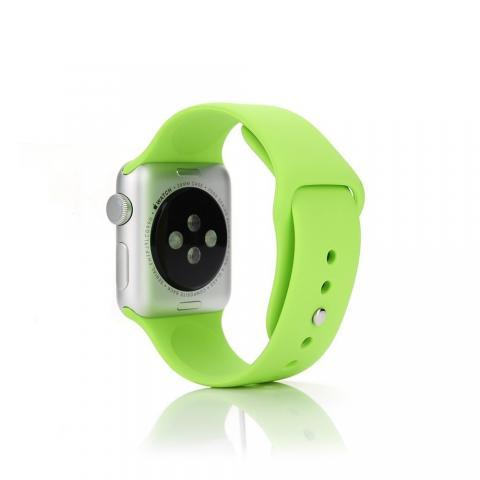 Ремешок для Apple Watch 42/44мм - Coteetci W3 зелёный