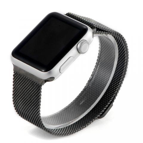 Ремешок для Apple Watch 42/44мм - Coteetci W6 черный
