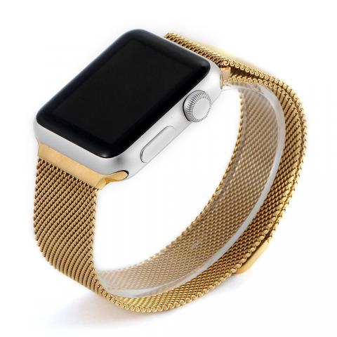 Ремешок для Apple Watch 42/44мм - Coteetci W6 золотистый