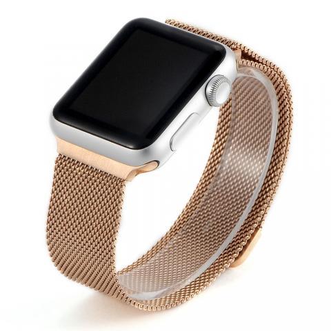 Ремешок для Apple Watch 42/44мм - Coteetci W6 розовое золото