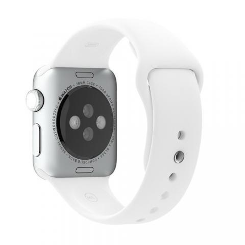 Ремешок для Apple Watch 38/40мм - Coteetci W3 белый