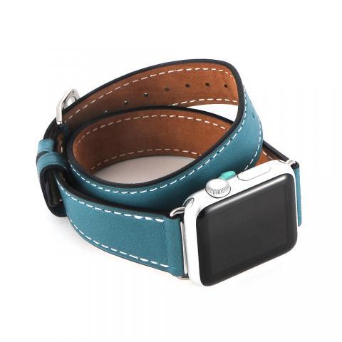Ремешок для Apple Watch 38/40мм - Coteetci W9 голубой
