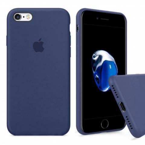 Чехол Full Silicone Case iPhone 6/6S - alaskan blue