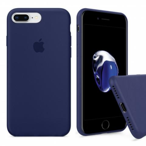 Full Silicone Case for iPhone 8 Plus/7 Plus - midnight blue