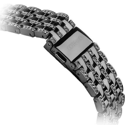 Ремешок для Apple Watch 38/40mm - COTEetCI W4 Magnificent чёрный