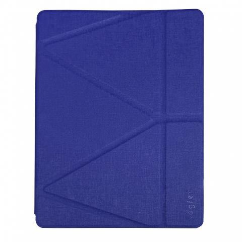 Чехол Logfer с держателем для стилуса для iPad Air - синий