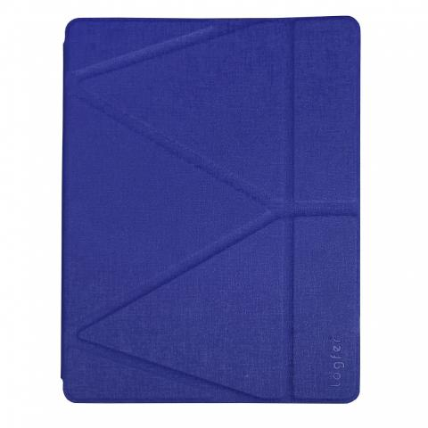 Чехол Logfer с держателем для стилуса для iPad Mini 4 - синий