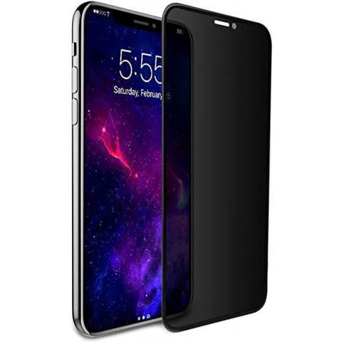 Защитное стекло анти-шпион Anti-Spy для iPhone X/XS