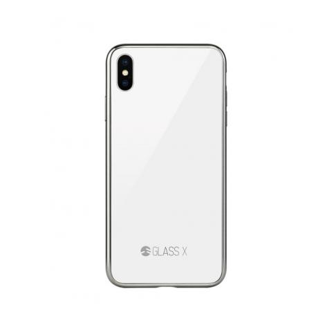 Чехол Switcheasy Glass X Case для iPhone XS Max Black White