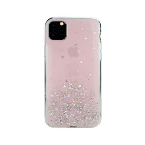 Чехол SwitchEasy Starfield для iPhone 11 Pro Max Transparent Rose (GS-103-83-171-61)