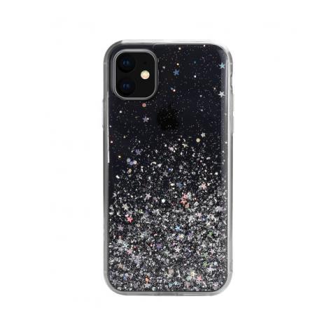 Чехол SwitchEasy Starfield для iPhone 11 Transparent Black (GS-103-82-171-66)