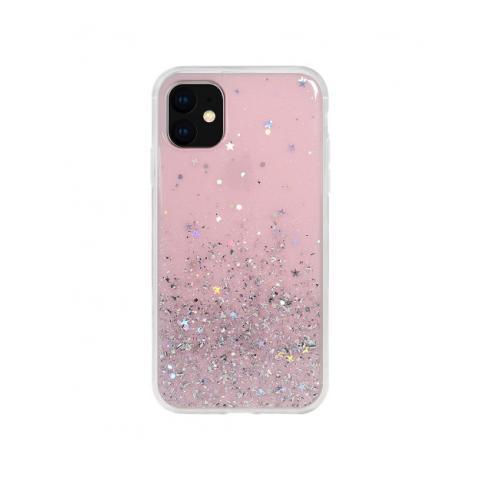 Чехол SwitchEasy Starfield для iPhone 11 Transparent Rose (GS-103-82-171-61)