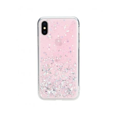 Чехол Switcheasy Starfield Case For iPhone X/XS Pink