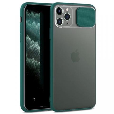 Чехол Slide Hide Camera для iPhone 11 Pro Max - green