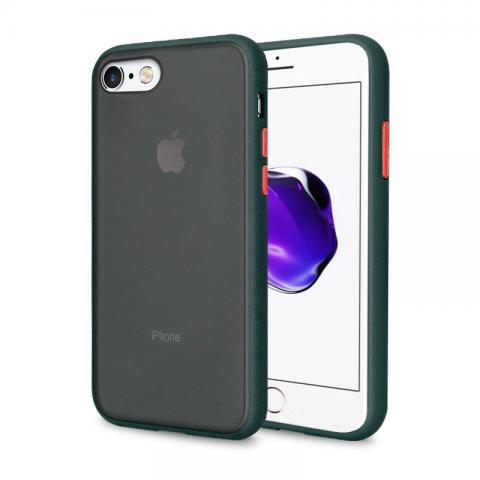 Противоударный чехол AVENGER для iPhone 7/8 - Forest Green/Yellow