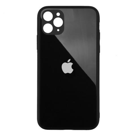 Стеклянный чехол с защитой для камеры для iPhone 11 Pro Max Black