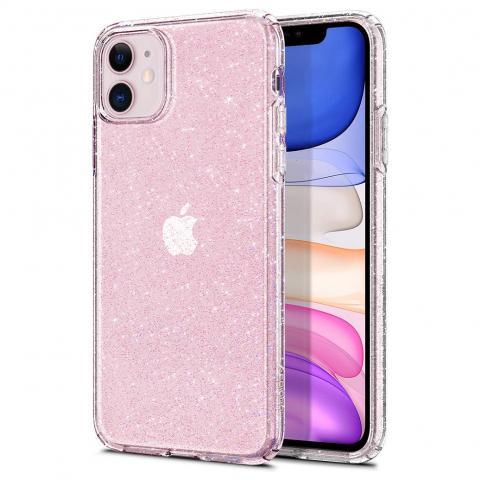 Силиконовый чехол Rock Pure для iPhone 11 - Pink