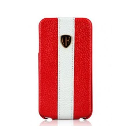 Чехол Nuoku rock luxury для iPhone 4/4s - red