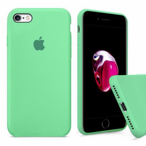 Чехол Full Silicone Case iPhone 6/6S - spearmint