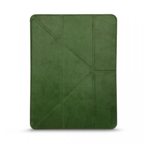 """Кожаный чехол RAIGOR INVERSE с держателем для стилуса для iPad Pro 12.9"""" (2020) Forest Green"""