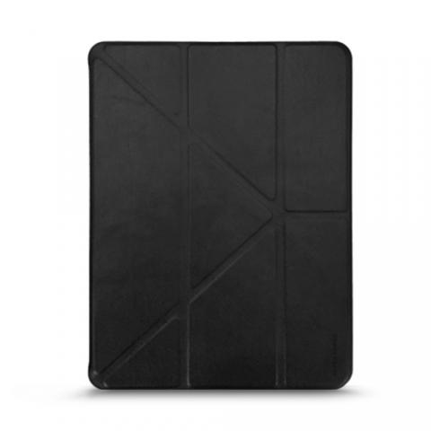 """Кожаный чехол RAIGOR INVERSE с держателем для стилуса для iPad 2017 10.5"""" Black"""