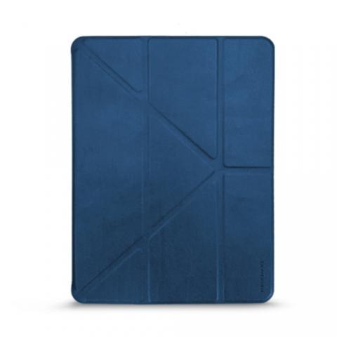 """Кожаный чехол RAIGOR INVERSE с держателем для стилуса для iPad Pro 11"""" (2020) Navy"""