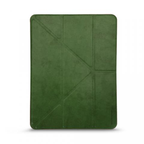 """Кожаный чехол RAIGOR INVERSE с держателем для стилуса для iPad Pro 11"""" (2020) Forest Green"""