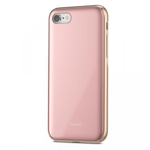 Чехол-накладка Moshi iGlaze для Apple iPhone 8/7 розовый