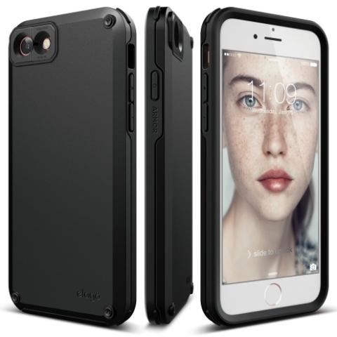 Чехол Elago Armor Case Black for iPhone 8/7 (ES7AM-BK-RT)