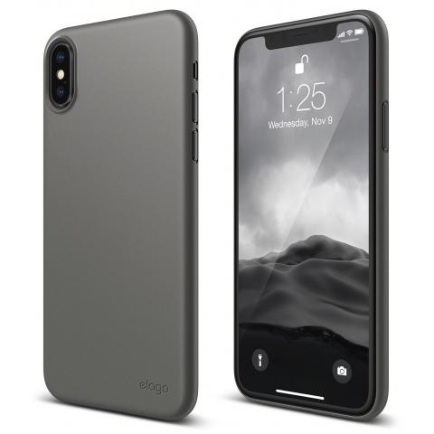 Чехол Elago Inner Core Case Dark Gray for iPhone X (ES8IC-DGY)