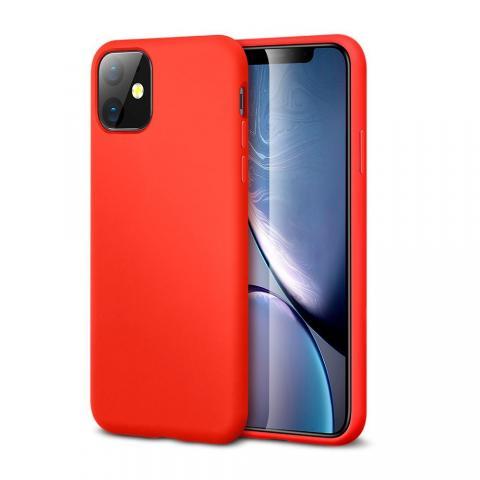 Ультратонкий чехол X-LEVEL для iPhone 11 - Red