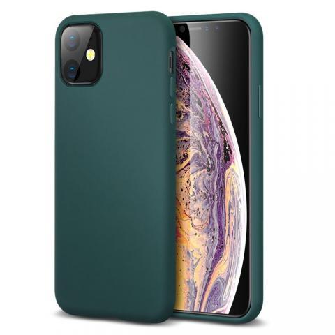 Ультратонкий чехол X-LEVEL для iPhone 11 - Forest Green