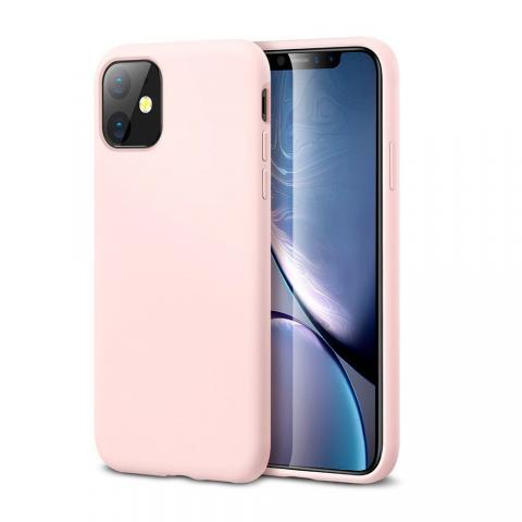 Ультратонкий чехол X-LEVEL для iPhone 11 - Pink Sand (Пудра)