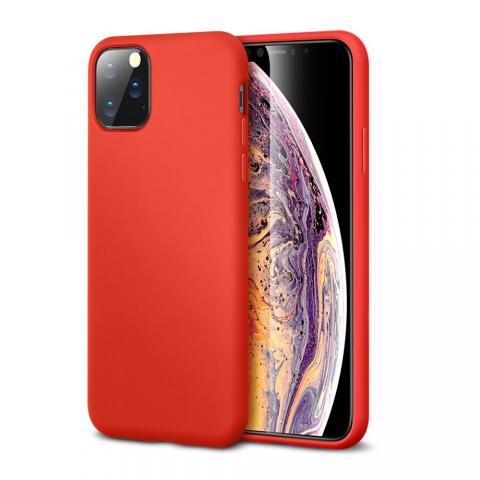 Ультратонкий чехол X-LEVEL для iPhone 11 Pro MAX - Red