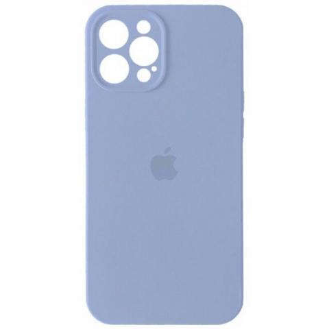 Силиконовый чехол с защитой для камеры для iPhone 12 Pro Max - Lilac