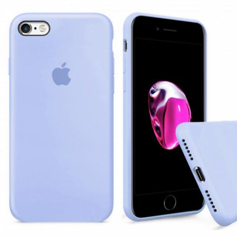 Чехол Full Silicone Case iPhone 6/6S - lilac
