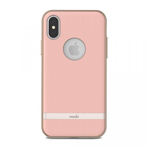 Чехол-накладка Moshi Vesta для Apple iPhone X розовый