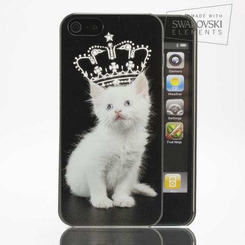 Facecase SWAROVSKI iPhone 5C Fluffy Prince (5CZ0231)