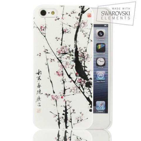 Facecace SWAROVSKI iPhone 5c Sakura Tree