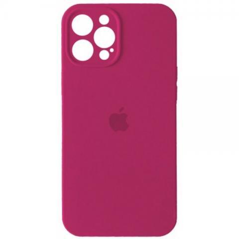 Силиконовый чехол с защитой для камеры для iPhone 12 Pro Max - Dragon Fruit