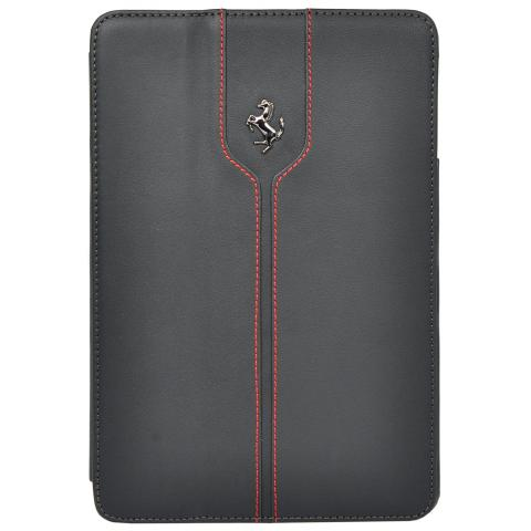 CG Mobile Ferrari Leather Folio Case Montecarlo Collection Black for iPad 2017 (FEMTFCD5BL)