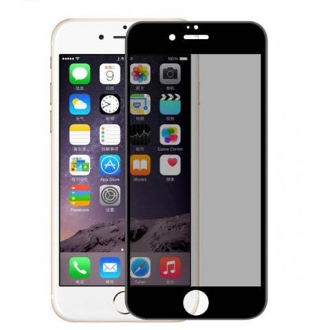 Защитное стекло анти-шпион Anti-Spy для iPhone 7/8/SE 2 - black (глянец)