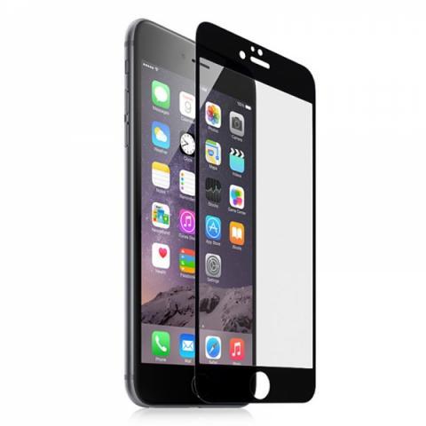 Защитное стекло 4D для iPhone 7 - Black