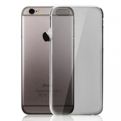 """Силиконовый прозрачный чехол для iPhone 6/6s (4.7"""") - серый"""