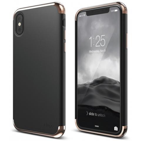 Чехол Elago Empire Case Chrome Rose Gold/Black for iPhone X (ES8EM-RGDBK)