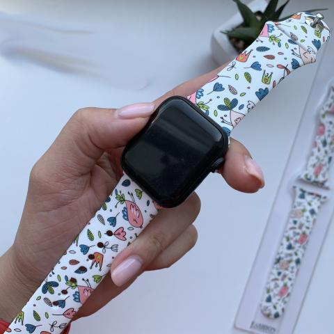 Ремешок Sport Band Picture для Apple Watch 38/40 mm Queen