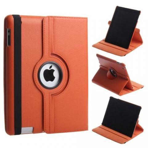 Чехол 360° Rotating Stand/Case для iPad 4/ iPad 3/ iPad 2  - светло-коричневый
